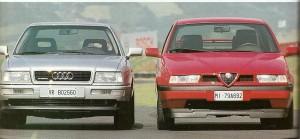 155 vs Audi 80