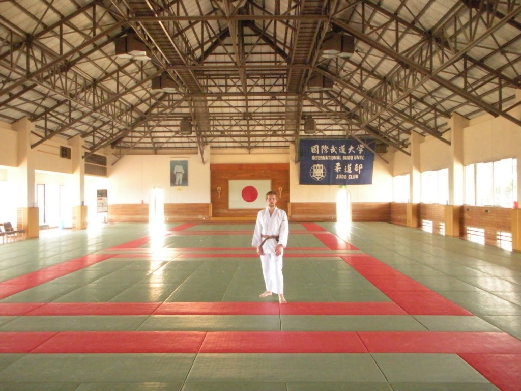 alone in the dojo