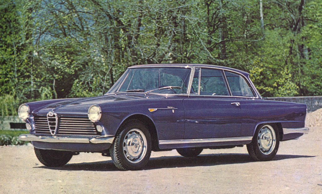 alfa-1959 alfa romeo 2000 by bertone