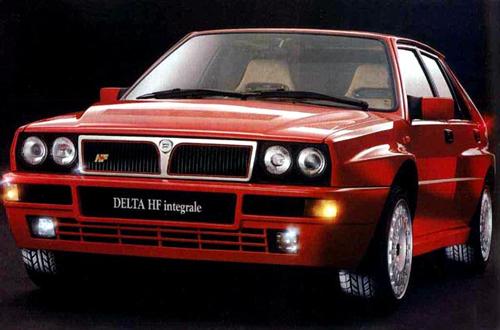 auto-Lancia Delta HF Integrale EVO