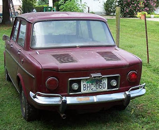 auto-simca 1000 rear view