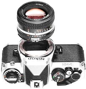 foto-Nikon FE2 lens