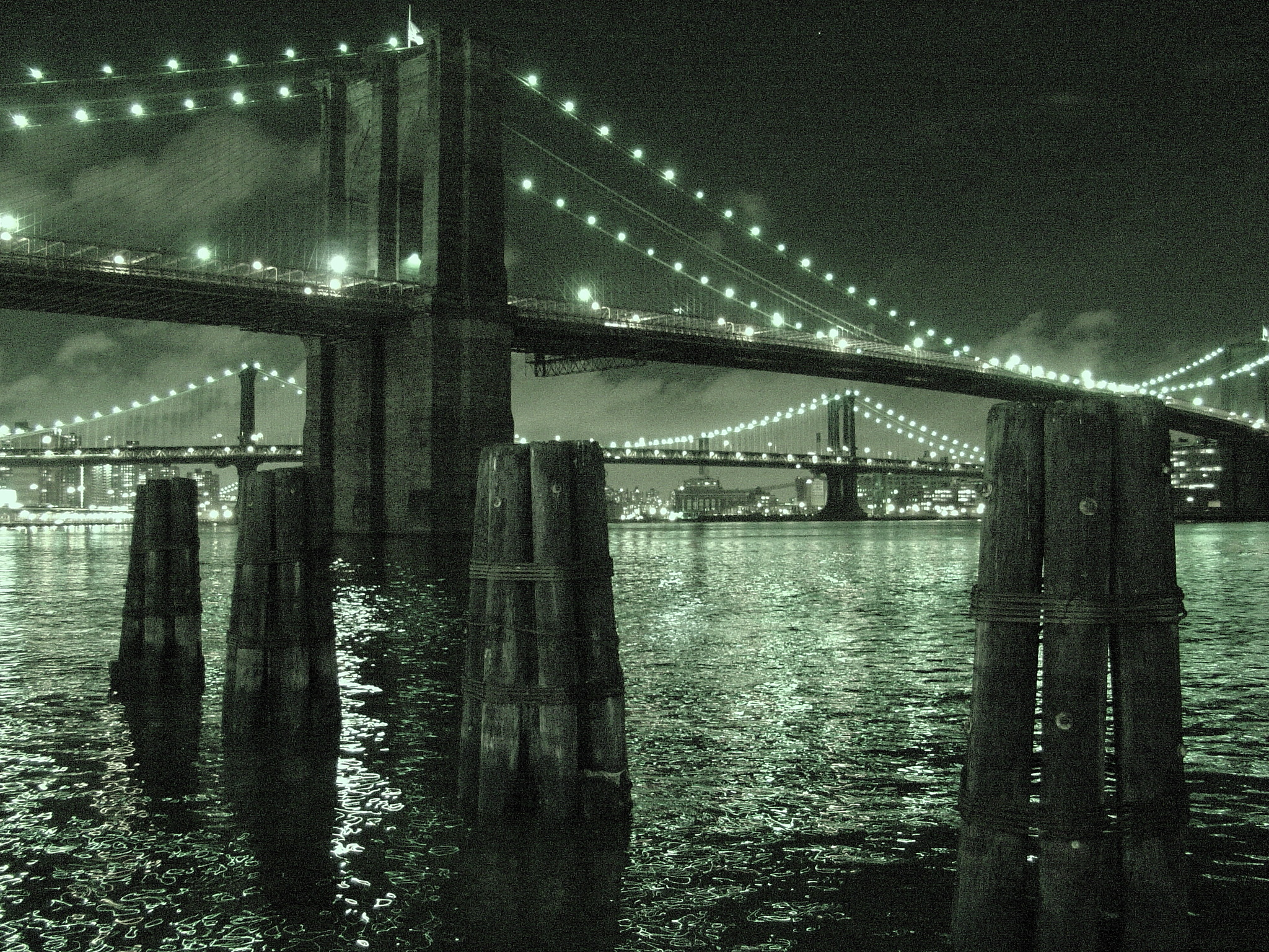 Brooklyn Bridge, Jan 2005