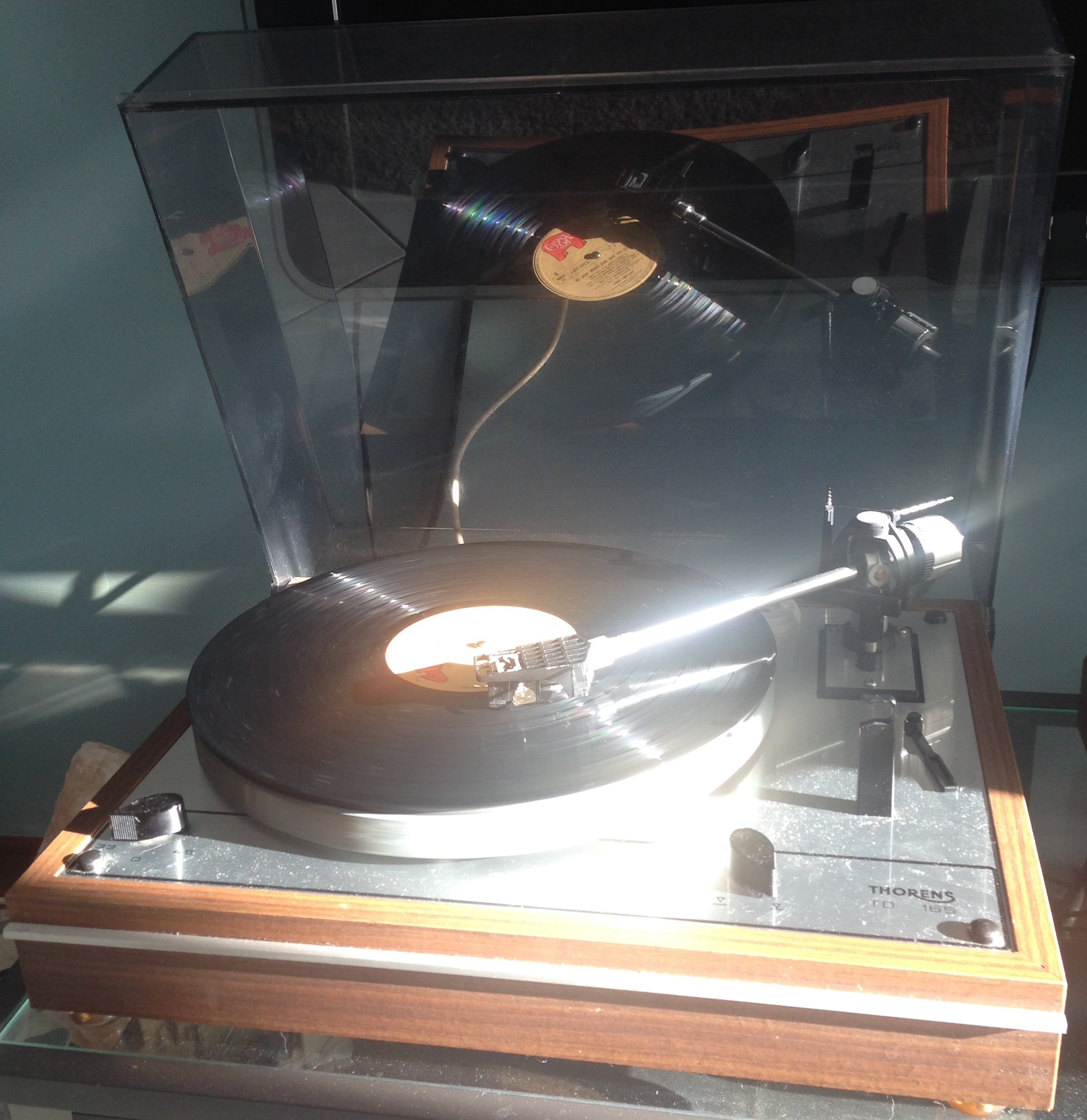 thorens td165 reflection