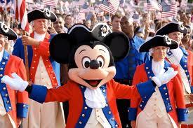 USA - Mickey Mouse Sfilata 4 luglio