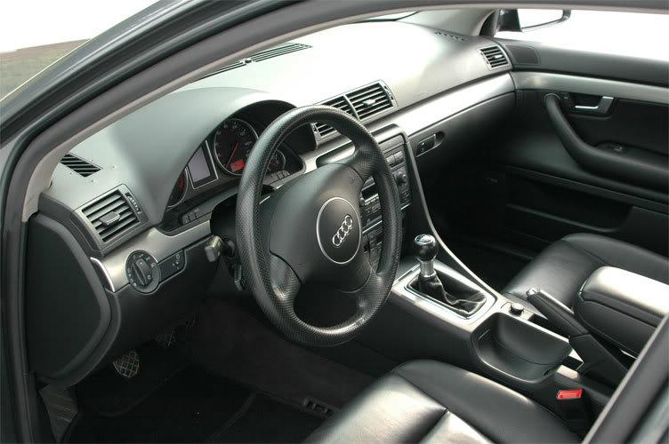 Audi A4 B6 interior